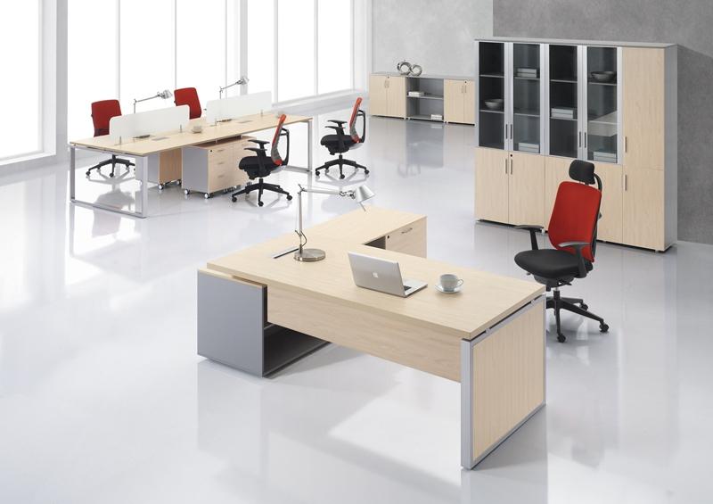 板式办公桌丨深圳办公家具